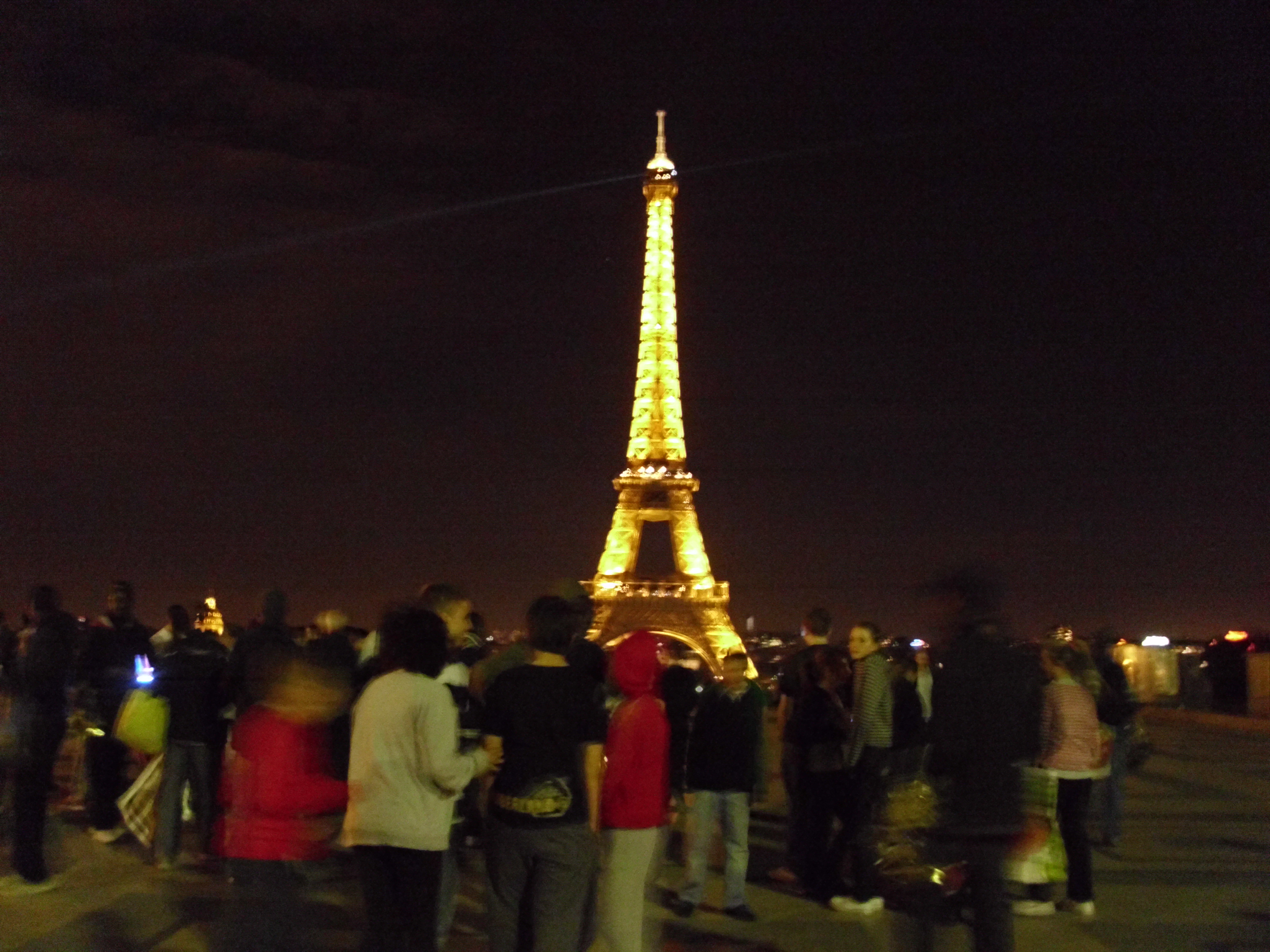 Eiffel Tower By Night Zen And The Art Of Tightrope Walking