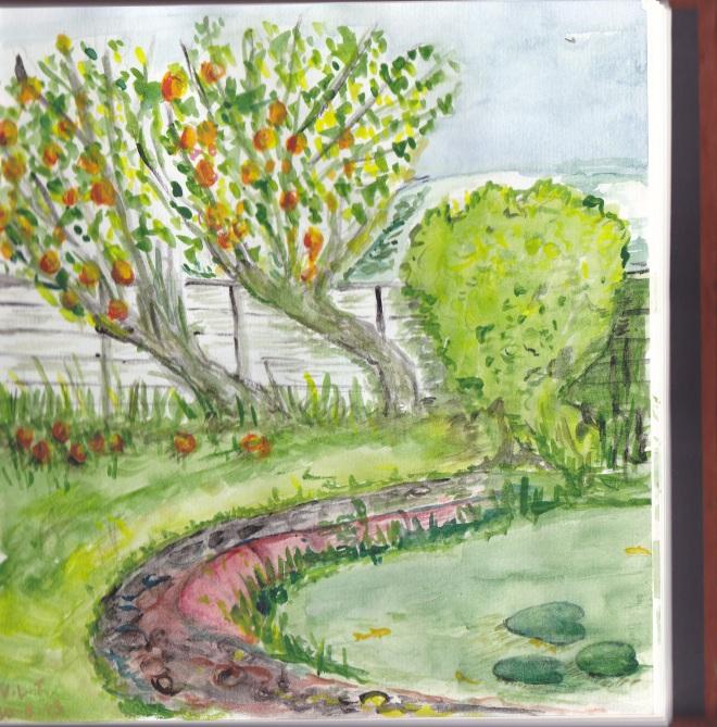Pond Painting