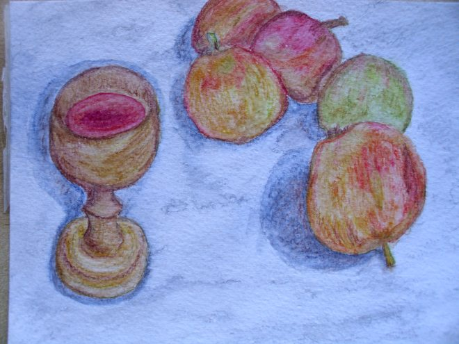 apples and chalice