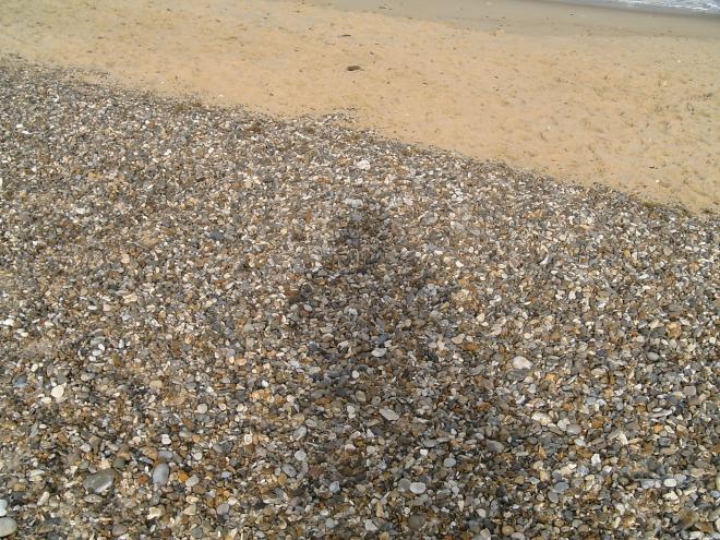 Shadow pebbles